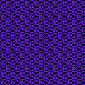 Purple Dots Abstract Pattern