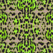 galaxy leopard - green