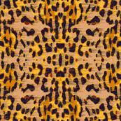 galaxy leopard - yellow
