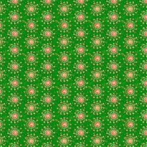 Mini Print: Christmas Festival - Spindly Flowers
