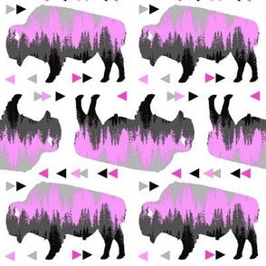 bison pattern p