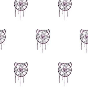 Dream CATcher - Mixed Berry Stripes