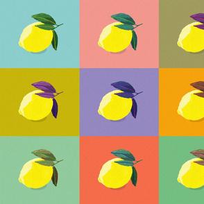 Citrus Pop Art no. 1