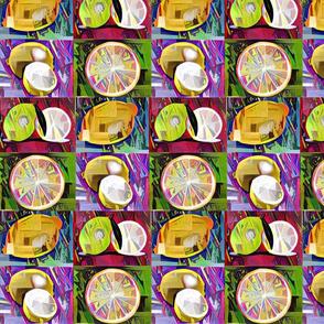 Crazy Pop Art Citrus