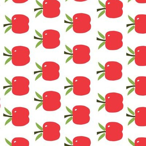 Red Apples - Tea Towel