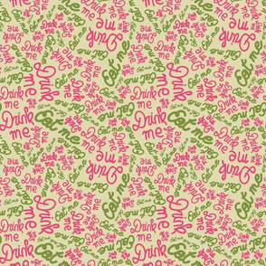 tea-party-collection-coordinate-Beige-bg-font-stock-small-spoonflower
