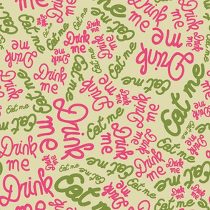 tea-party-collection-coordinate-Beige-bg-font-stock-spoonflower