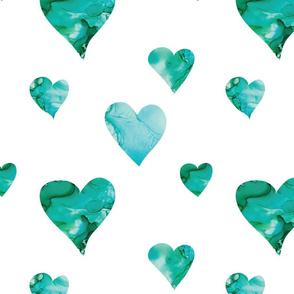 Dream Heart in Green
