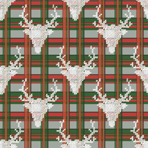 Check traditional reindeer 3D effect