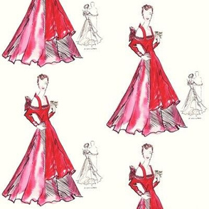 Arlene's Red Ball Gown