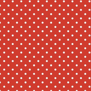 pop art citrus collection - white dots on red-01