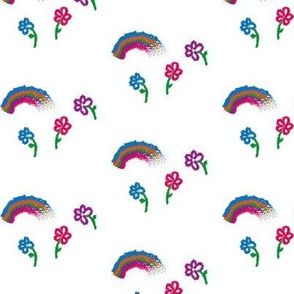 Rainbows and Meadow Flowers