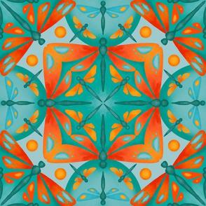 Dragonfly Kaleidoscope