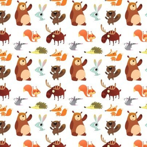 Cute Forest Animals (Micro Size)