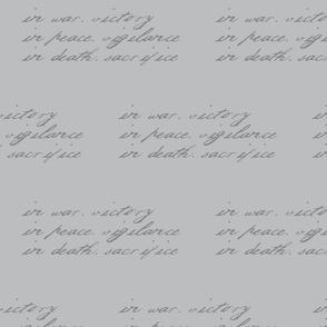 Grey Warden Words