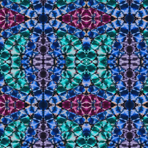 Shibori colorful Kaleidoscope