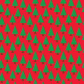 Christmas Pine Forest