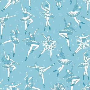 Light Blue Snowflake Dancers | SMALL