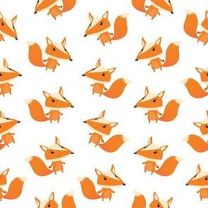 Cartoon Baby Fox Pattern (Small)