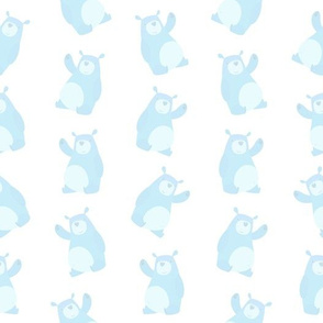 Soft Baby Blue Bears (Small Size)