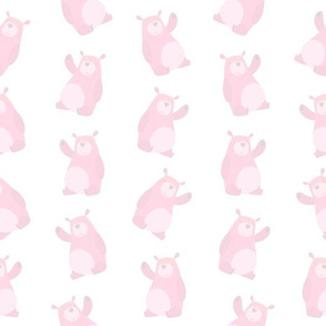 Soft Pink Baby Bears (Small Size)