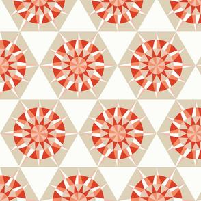 Kaleidoscope Retro Pearl