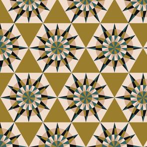 Kaleidoscope Retro Olive