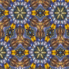 Kaleidoscope silk scarves