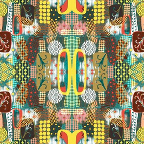 Mod Kaleidoscope Geometric