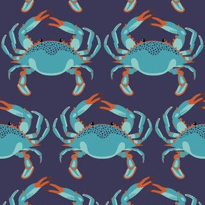 Blue Crab Jubilee // MEDIUM NAVY