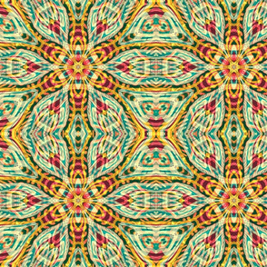 Tiki flower Kaleidoscopic50