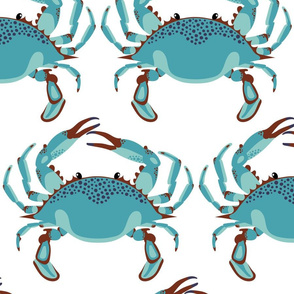 Blue Crab Jubilee // JUMBO WHITE