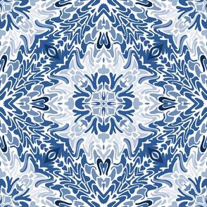 18_ COTTAGE BLUE KALEIDOSCOPE