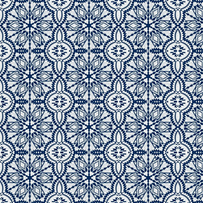 Nordic Christmas embroidery25 (blue)