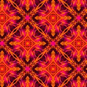 GEO ORGANIC bright orange pink  sf