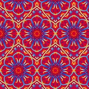 Fancy Flower Mosaic