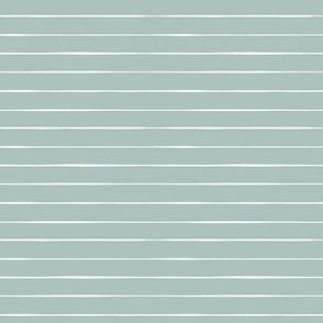 Valentine's Day // lagoon blue stripes