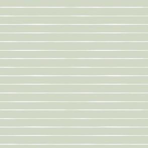 Valentine's Day // light sage green stripes