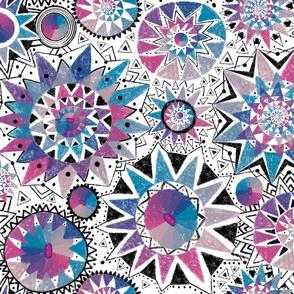 Boho kaleidoscopes
