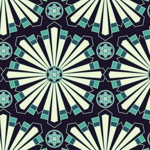 Kaleidoscope in Mint
