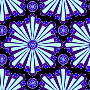 kaleidoscope in Purple