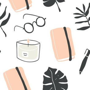 Cozy blogger design