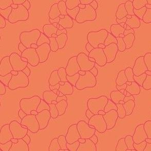 Orange blossom red