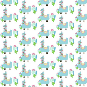 Fancy mint SMALL 4 Glammy LLAMA cactus
