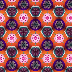 Flowers through a Kaleidoscope