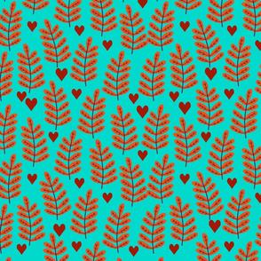 Bright autumn design