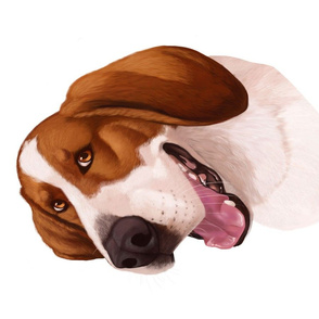 Beagle Cartoon Caricature