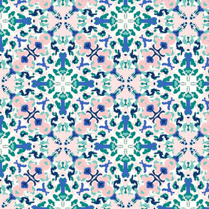 abstract kaleidoscope/cream background