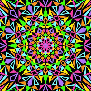 Kaleidoscope Burst Night