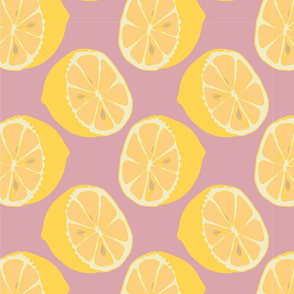 Pop Art Citrus Challenge Pink Pop Lemons